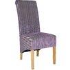 Home Loft Concept Krista Solid Oak Upholstered Dining Chair (Set of 2)