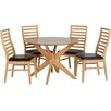 Home Loft Concept Dining Table and 4 Chair