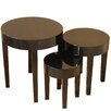Home Loft Concept 3 Piece Nesting Table Set