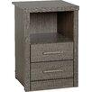Home Loft Concept Nachttisch Rossi mit 2 Schubladen