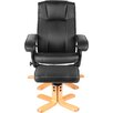 Home Loft Concept Premier Recliner and Footstool