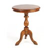 Hazelwood Home Berkshire Lamp Table in Mahogany