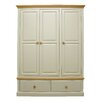 Hazelwood Home Dania 3 Door Wardrobe