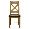 Hazelwood Home Ellie Solid Wood Upholstered Dining Chair