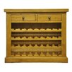 Hazelwood Home Ellie 32 Bottle Wine Cabinet