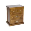 Hazelwood Home 4 Drawer Bedside Table