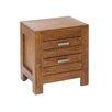 Hazelwood Home 2 Drawer Bedside Table