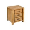 Hazelwood Home Bedside table with 3 drawers