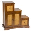 Hazelwood Home 3 door 3 drawer chest of drawers