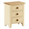 Hazelwood Home Solst 3 Drawer Bedside Table