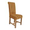 Hazelwood Home Solid Wood Upholstered Dining Chair (Set of 2)
