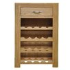 Hazelwood Home 16 Bottle Tabletop Wine Cabinet
