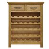 Hazelwood Home 30 Bottle Tabletop Wine Cabinet