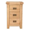 Hazelwood Home 3 Drawer Bedside Table