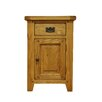 Hazelwood Home 1 Drawer Bedside Table