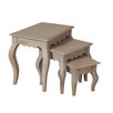 Hazelwood Home Bridgette 3 Piece Nest of Tables