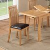 Hazelwood Home Harwich Solid Wood Upholstered Dining Chair (Set of 2)