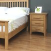 Hazelwood Home Clevedon 3 Drawer Bedside Table