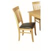 Hazelwood Home Denton Solid Wood Upholstered Dining Chair (Set of 2)