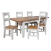 Hazelwood Home Francesca Extendable Dining Table