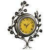 Hazelwood Home Leaves Wall Clock