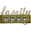 Hazelwood Home Family Quad Picture Frame