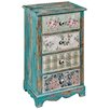 Hazelwood Home Patchwork 4 Drawer Chest