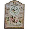 Hazelwood Home Belle Jardiniere Wall Clock