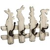Hazelwood Home Rabbit Wall Hook