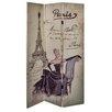 Hazelwood Home 3-tlg. Raumteiler Paris, 180 cm x 120 cm
