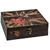 Hazelwood Home British Rose Storage Box
