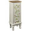 Hazelwood Home Leaves Contrast 4 Drawer Chest