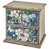Hazelwood Home Flowers 3 Drawer Chest