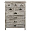 Hazelwood Home 9 Drawer Wooden Cabinet