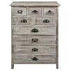 Hazelwood Home 9 Drawer Wooden Cabinet