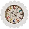 Hazelwood Home Lace 38cm Wall Clock
