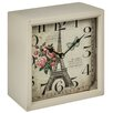 Hazelwood Home Eiffel Tower Square Wall Clock