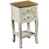 Hazelwood Home 2 Drawer Bedside Table