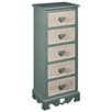 Hazelwood Home Heart 5 Drawer Chest