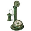 Hazelwood Home Air Pump Shelf Clock