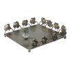 Hazelwood Home Flowers Metal Napkin Holder