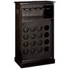 Hazelwood Home 16 Bottle Wine Cabinet