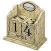 Hazelwood Home Dekorativer Blockkalender