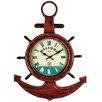 Hazelwood Home Anchor Shelf Clock