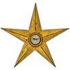 Hazelwood Home Wanduhr Star