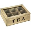Hazelwood Home Wooden Tea Box