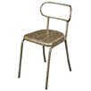 Hazelwood Home Metal Side Chair