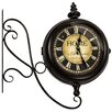 Hazelwood Home Home Station 47cm Clock