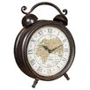 Hazelwood Home World Map Alarm Clock