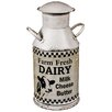 Hazelwood Home Decorative Milk Churn